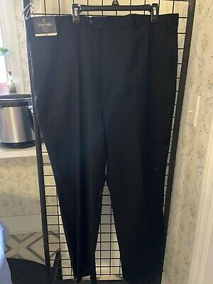 New Stafford Executive Big & Tall Fit Suit Separates Flat Front 46x32
