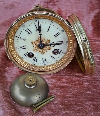 beautiful and small french clock movement for a mantel clock