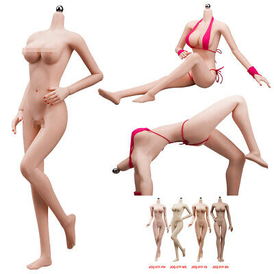 1/6 Scale Steel Skeleton Female Big Bust Body Sexy Girl for Phicen TBLeague Doll