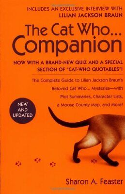 The Cat Who...companion by Feaster, Sharon A. Book The Cheap Fast Free Post