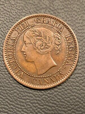 1858 Canada Large One Cent Plus Bonus 1882 One Cent  / 2 Coin Lot