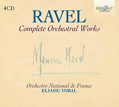 Ravel - Complete Orchestral Works -  CD VIVG The Cheap Fast Free Post The Cheap