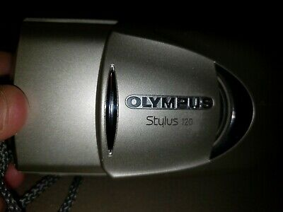 Olympus Stylus 120 AF Point & Shoot 35mm Film Camera 38-120 Zoom Tested Working