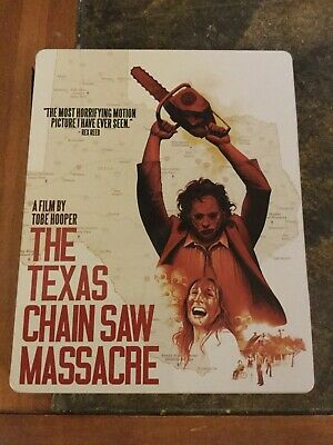 texas chainsaw massacre blu ray steelbook