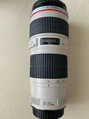 Canon EF 70-200mm f/4 USM Lens With UV filter Great Condition