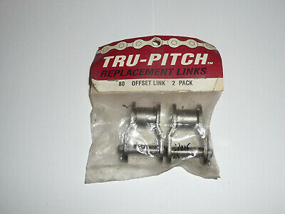 Offset Links Replacement Tru-Pitch w//Free Shipping Lot of 10-80 Daido Corp