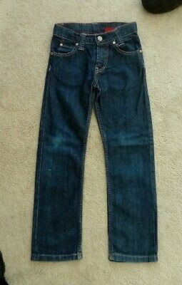 """Levis Boys Red Tab Blue Denim Jeans size 6. AGE 5 - 6 years   STRAIGHT 6"""" WIDE"""