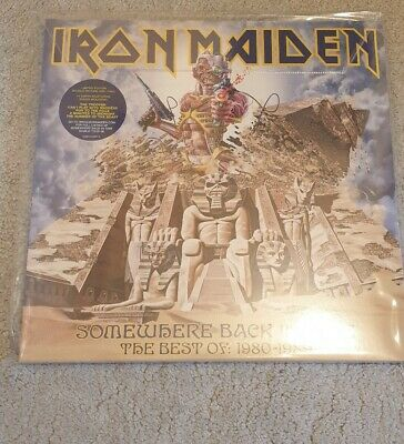 IRON MAIDEN 'Somewhere Back in Time' ORIG 2LP Picture Disc NWOBHM Sealed NEW