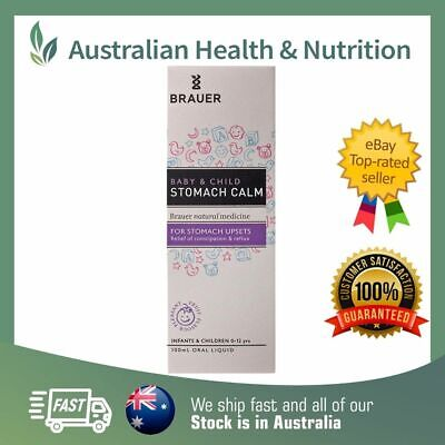 Brauer Baby & Child Stomach Calm 100Ml - Relieve Stomach Aches & Pains + Sample