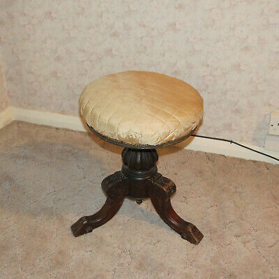 Antique Piano Stool. Restoration Project
