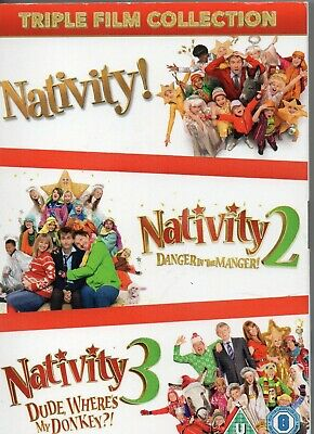 Nativity Triple Film Collection DVD
