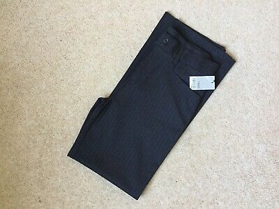 Boys Next formal brown pin stripe trousers. Age 13 years BNWT