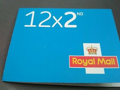 NEW 2nd Class Stamps x12 MINT ROYAL MAIL Postage Second Book Sheet V.QUICK POST