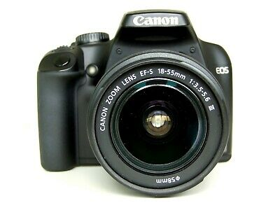 Canon EOS 1000D 10,1 MP DSLR mit Canon EF 28-80mm III Objektiv Live View + OVP