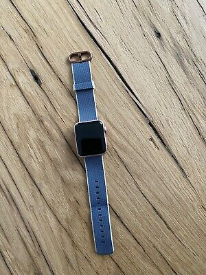 Apple Watch Series 2 -38mm- Roségold Aluminium OVP & original Armband