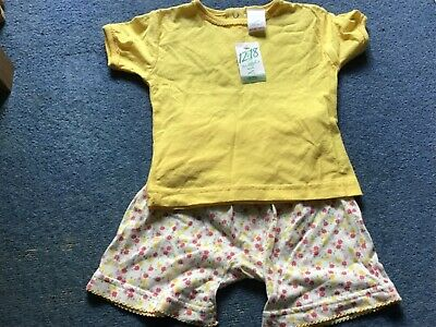 girls shorts and t shirt set 12-18 months from Mackays
