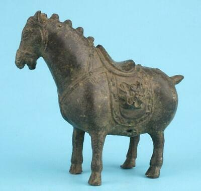 China bronze handmade casting horse statue auspicious gift collection old /Tb02