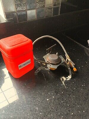 Portable Mini Outdoor Stove Compact Camping Hiking Fishing Gas Heater Cooker.