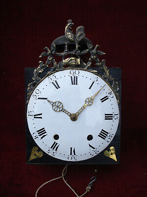 Late 18Th C  Period Of The Revolution French Comtoise 8 Day Wall Clock Gwo
