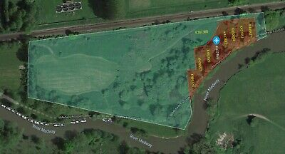 Freehold Land with River Frontage: Wateringbury, Kent
