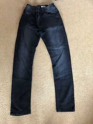 Boys Next Black Jeans Skinny Age 13 Years Hardly Worn