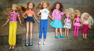 Lot Stacie Hailey Chelsea Dolls Barbie's Little Sister Courtney Dressed