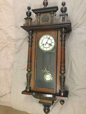 Antique, Vienna, Working,  Striking Clock Matching  Pendulum  And Dial