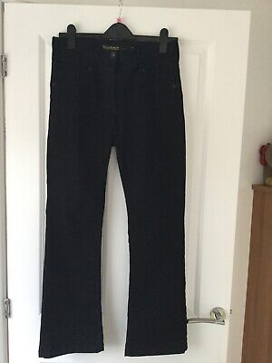 Ladies Next Black lift and shape bootcut jeans 12p BNWOT