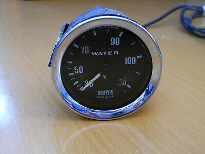 Classic Smiths Mechanical Water Temperature Gauge With Capillary Tg1301/00Ar