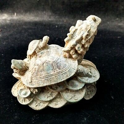 5556  Ancient Chinese bronze ware  Dragon turtle