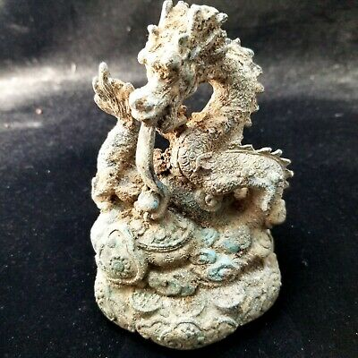 5645  Ancient Chinese bronze ware  Dragon