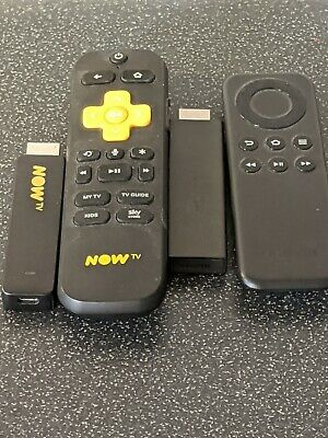 NOW TV Stick and Amazon fire stick( no voice search on Fire stick) - Matte Black