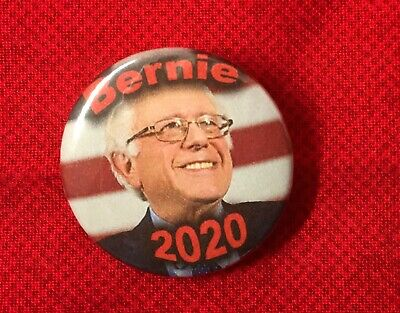 "Bernie Sanders For President 2020 1.25"" Pinback/Button/Lapel Pins - New USA Made"