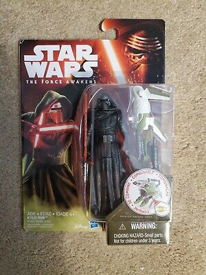 "Hasbro Star Wars The Force Awakens 2015 3.75"" Kylo Ren -New/Sealed!-"