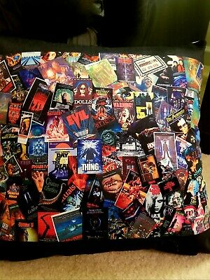 Horror Movie Poster 18x18Pillowcase Michael Myers Leatherface, Critters and more