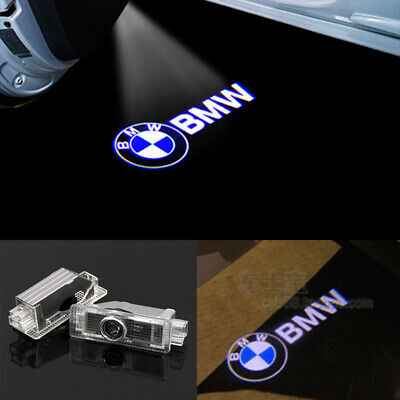 2X LED Courtesy Laser Welcome Projector Logo Shadow Car Door Lights For BMW All.