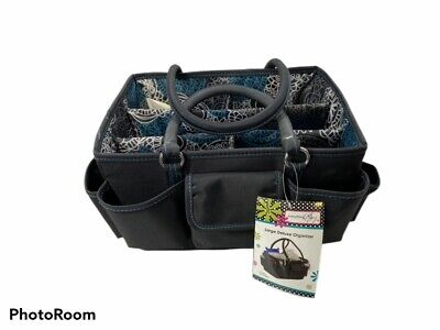 Everything Mary Black Deluxe Store and Tote Bag Crafts- Storage with Handles