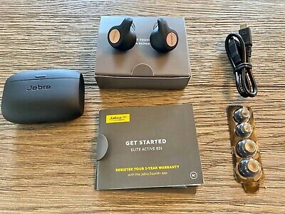 Jabra Elite Active 65t Bluetooth Wireless Earbuds with Charging Case