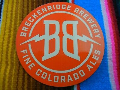 OUTER RANGE BREWING Frisco Colorado in steep STICKER decal craft beer brewery
