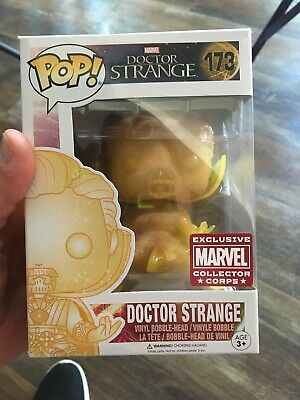 Funko Pop! Vinyl Doctor Strange #173 Marvel Collector Corps Exclusive Dr