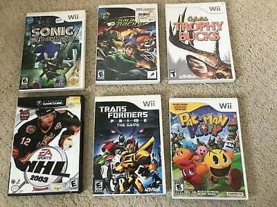 Nintendo Wii and Gamecube Games - Buy 1 or Buy Them All! - You Pick - Used