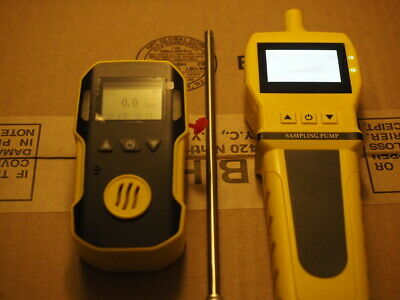 Hydrogen Sulfide (H2S) Meter + Pump Probe by Forensics