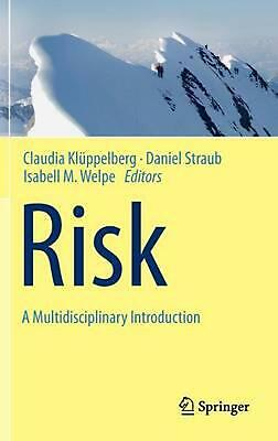 Risk - A Multidisciplinary Introduction by Kl (English) Hardcover Book Free Ship