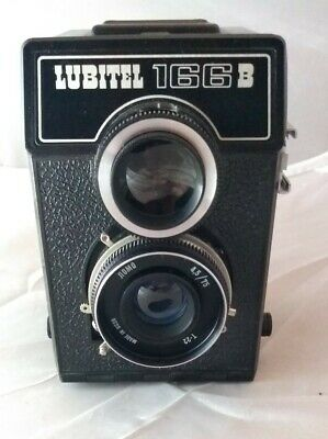 LOMO RUSSIAN CAMERA  LUBITEL 166B 1985 with lens cap