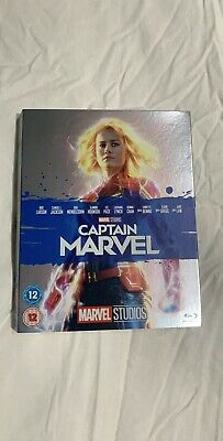 Captain Marvel Blu Ray (SLIPCOVER ONLY) NO DISC Brand New.