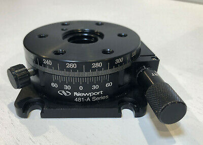 Newport 481-A Series Precision Rotation Stage With Micrometer NICE