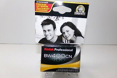 Kodak BW400CN Professional- 35MM  24exp - Black and White Film Sealed Expired