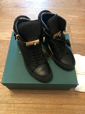 Buscemi 100mm Alta Womens Trainers. Size 4. Ex Display. Rrp £550