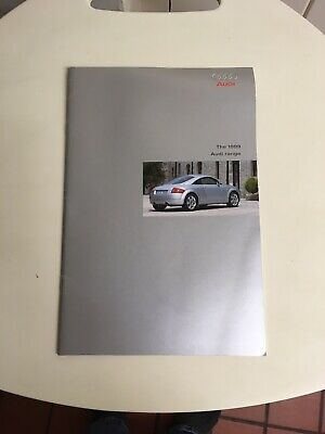 Audi Range Car Brochure 1999 Including TT