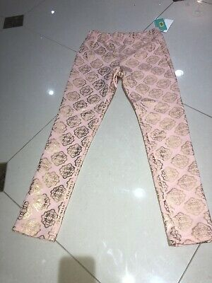 Girls Large Copper Key Leggings